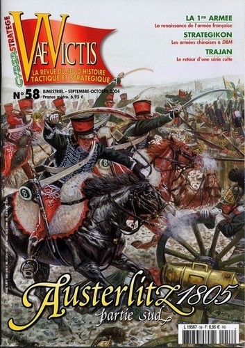 VaeVictis no. 58 Austerlitz 1805 partie sud