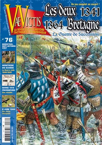 VaeVictis no. 76 Le deux Bretagne 1341-1364